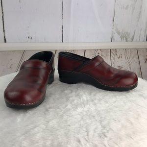 Dansko red clogs size 41
